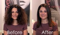 Best hair straightening treatment | Bhave smoothe therapy demonstration | Best keratin straightening treatment