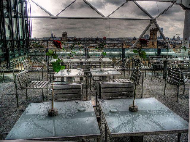 Georges restaurant in Paris | Georges Restaurant, Pompidou Paris