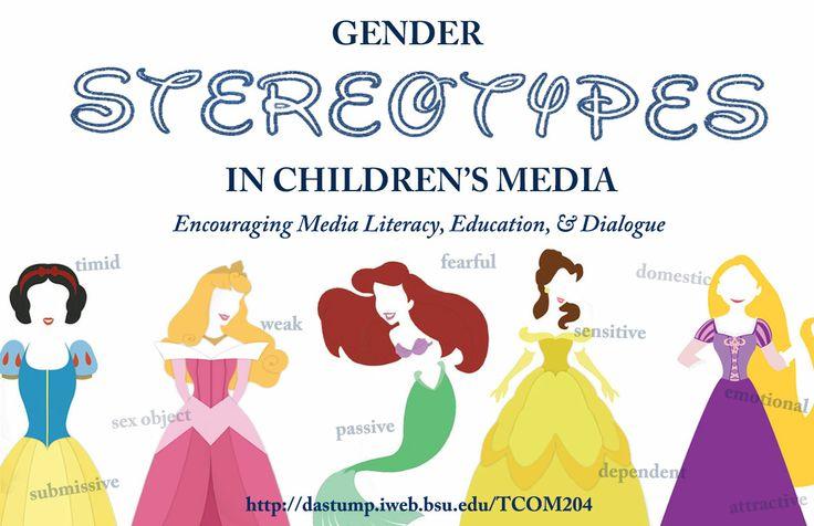 Gender Stereotypes in Children's Media