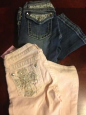 Miss Me Jeans Lot Sz 14 Tags Light Pink Denim Bling Back to School 2 Pair | Back to school, Miss me, tween, Fashion
