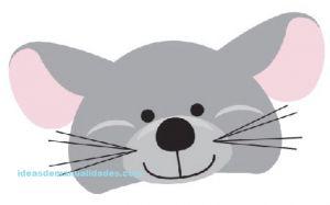 mascara raton para niños