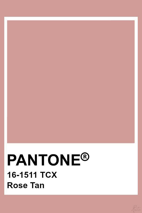 Pantone Rose Tan Pantone Colour Palettes Pantone Color
