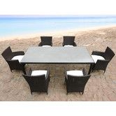 Found it at Wayfair - Italy 160 7 Piece Dining Set- $1634, 1-2 weeks