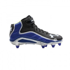 SALE - Mens Under Armour Fierce Havoc Football Cleats Black Synthetic - Was $89.99 - SAVE $45.00. BUY Now - ONLY $44.97