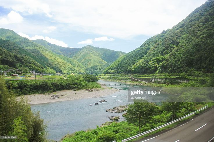 Captured on the way from Uwajima to Kubokawa by train. It had been my most scenic train journey in Japan.