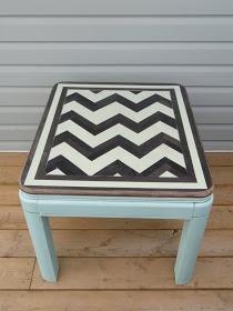 Furniture redo using homemade vinegar wood stain