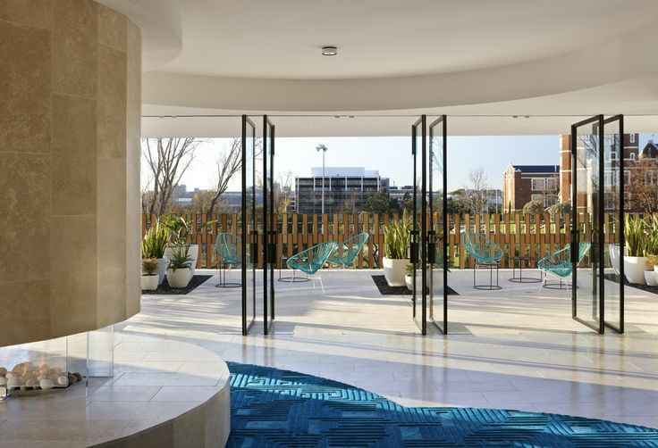 Wintergarden. The Claremont. Bird de la Coeur Architects Interiors Hassell Photo Dianna Snape