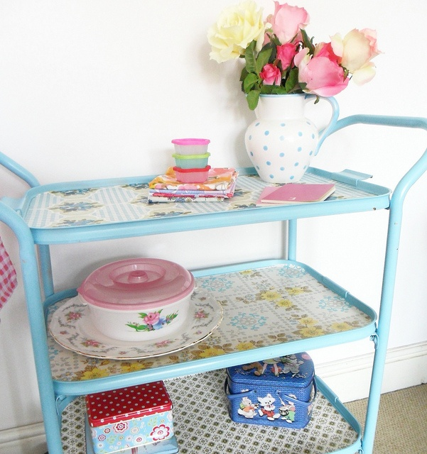 love it, just have to find a tea trolley to upcycle!
