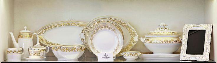 Juego de vajillas,Vista Alegre, accesorios, en Home Gallery.