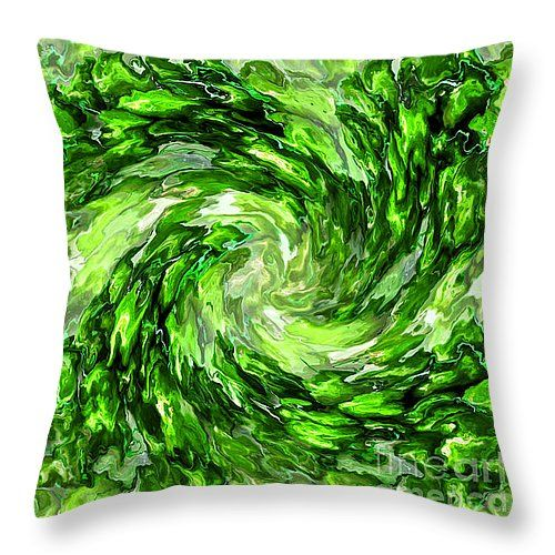 "Imagine Whirled Peas 6000 x 6000 14"" x 14"" Throw Pillow by Shelly Weingart.  Our throw pillows are made from 100% cotton fabric and add a stylish statement to any room.  Pillows are available in sizes from 14"" x 14"" up to 26"" x 26"".  Each pillow is printed on both sides (same image) and includes a concealed zipper and removable insert (if selected) for easy cleaning."