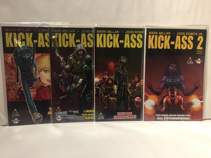 Icon Comics Mark Millar Kick Ass 2  7 issue miniseries!: $15.00 (0 Bids) End Date: Friday Mar-9-2018 11:11:54 PST Buy It Now for only:…