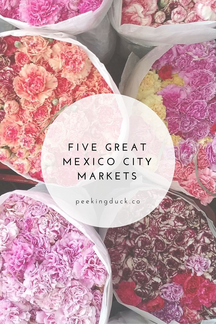 Some great markets in Mexico City – flowers, sweets, witchcraft and more!