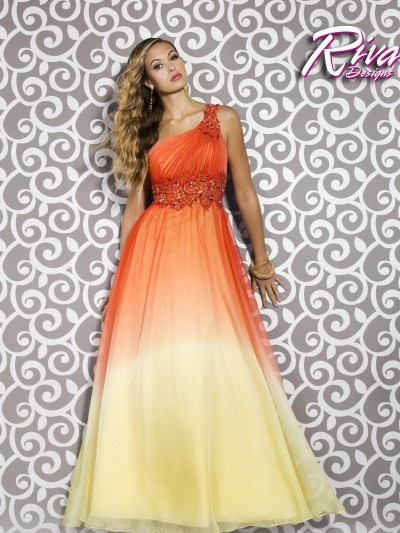 Top 35 Ideas About Beautiful Orange Dresses On Pinterest