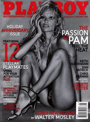 *Playboy Jan 07 Pamela Anderson, Holiday Anniversay Issue *(PERFECT CONDITION) *