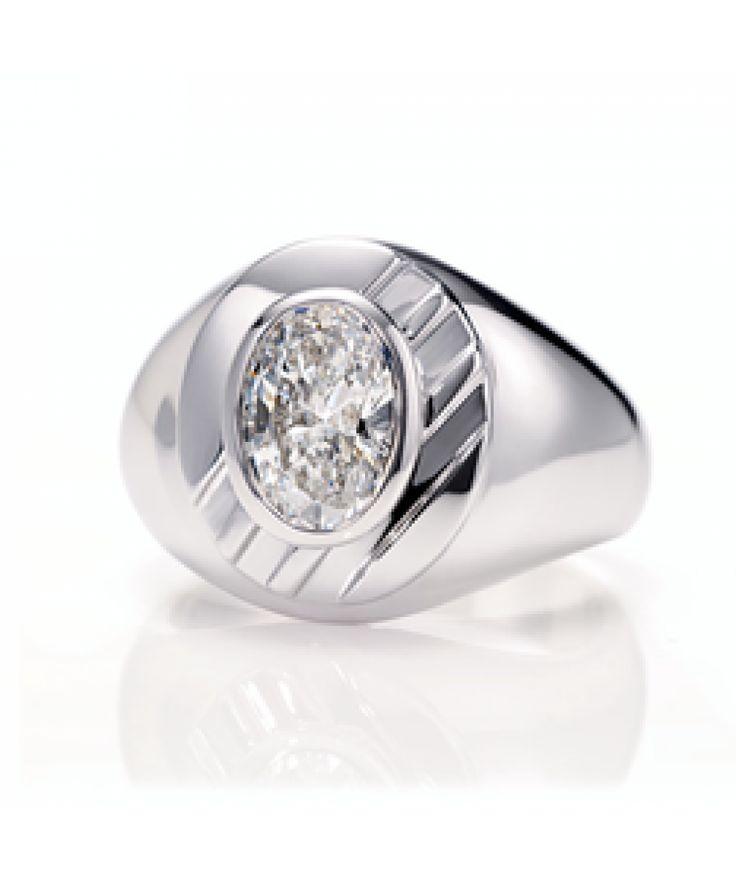 diamond class ring - Harry Winston - Designers