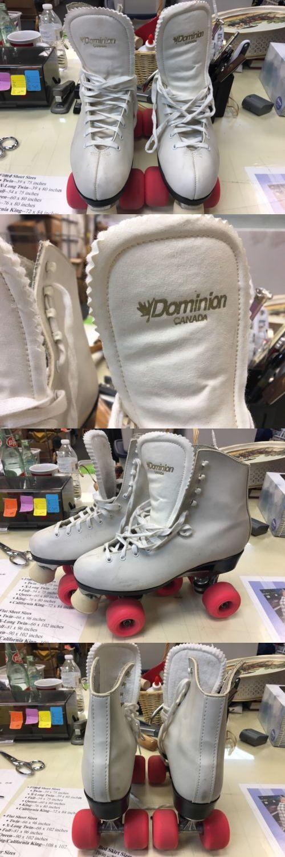 Women 16261: Dominion-Esprit White Indoor Outdoor Roller Skates - Size Ladies 9 -> BUY IT NOW ONLY: $60 on eBay!