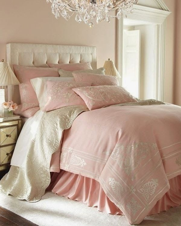 493 Best Images About Pink Bedrooms For Grown Ups On