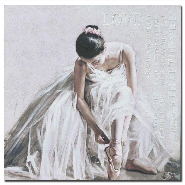 Πίνακας Μπαλαρίνα με λευκό φόρεμα http://www.lovedeco.gr/p.Pinakas-Mpalarina-me-leyko-forema.905260.html