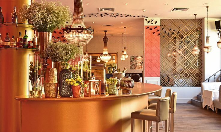 Olivier Avenida Restaurant | Projects | Arte wallcovering