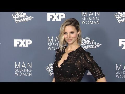 "Jill Latiano FXX's ""Always Sunny"" and ""Man Seeking Woman"" Season Premieres Red Carpet"