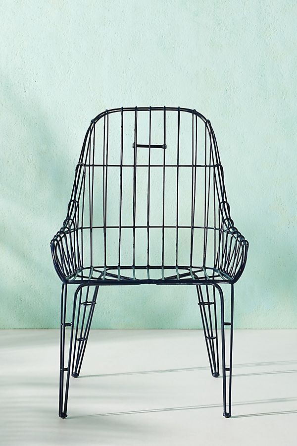 Wire Elowen Indoor Outdoor Dining Chair Dining Chairs Furniture