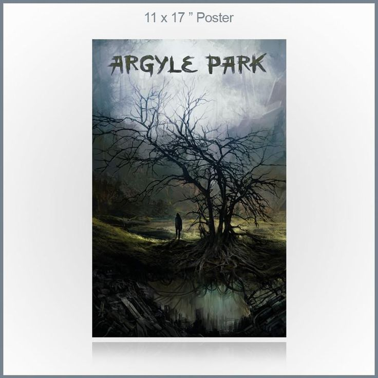 "Argyle Park - Misguided 11x17"" Poster"