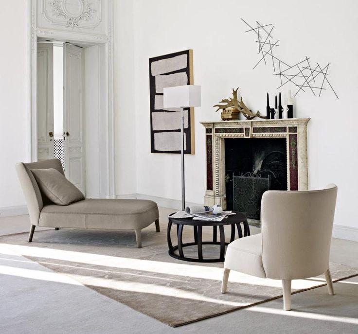 Maxalto Febo chaise longue