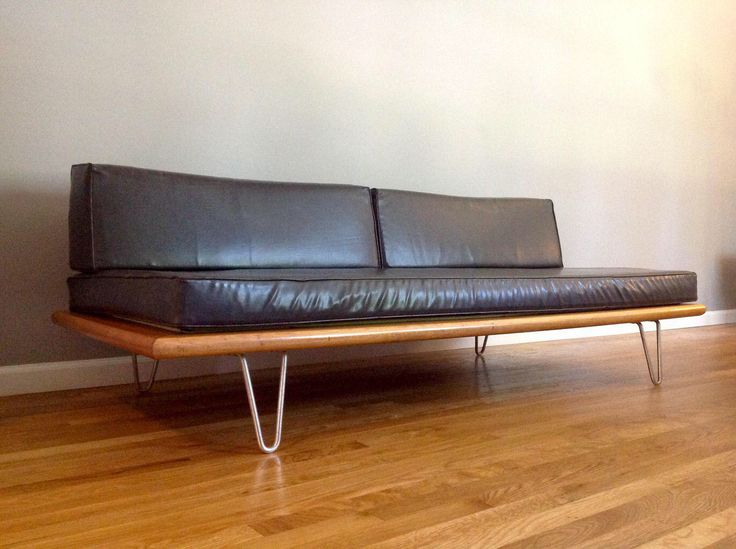 Daybed holz  53 best George Nelson Daybeds images on Pinterest   Daybed, Day ...