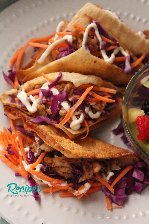 Cafe Rio Shredded Chicken Taco Calories