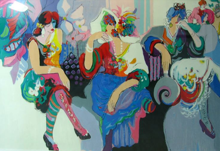 """Limited Edition Print """"After the Ball"""" by Isaac Maimon"""