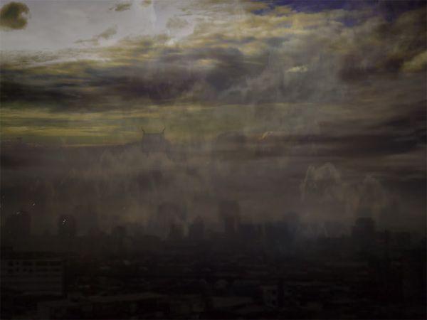 Bangkok sky scene