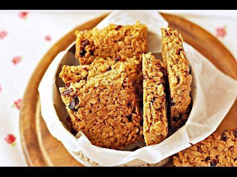 (1) Proste batoniki owsiane - PRZEPIS – proste ciastka owsiane – bez mąki - Mała Cukierenka - YouTube