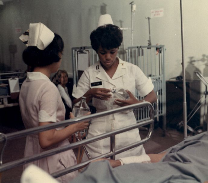The Vietnam Center and Archive: Exhibits - Nurses of the Vietnam War