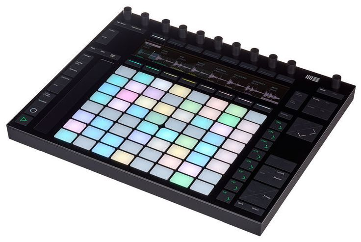 Ableton Push 2 - used by POGO for music