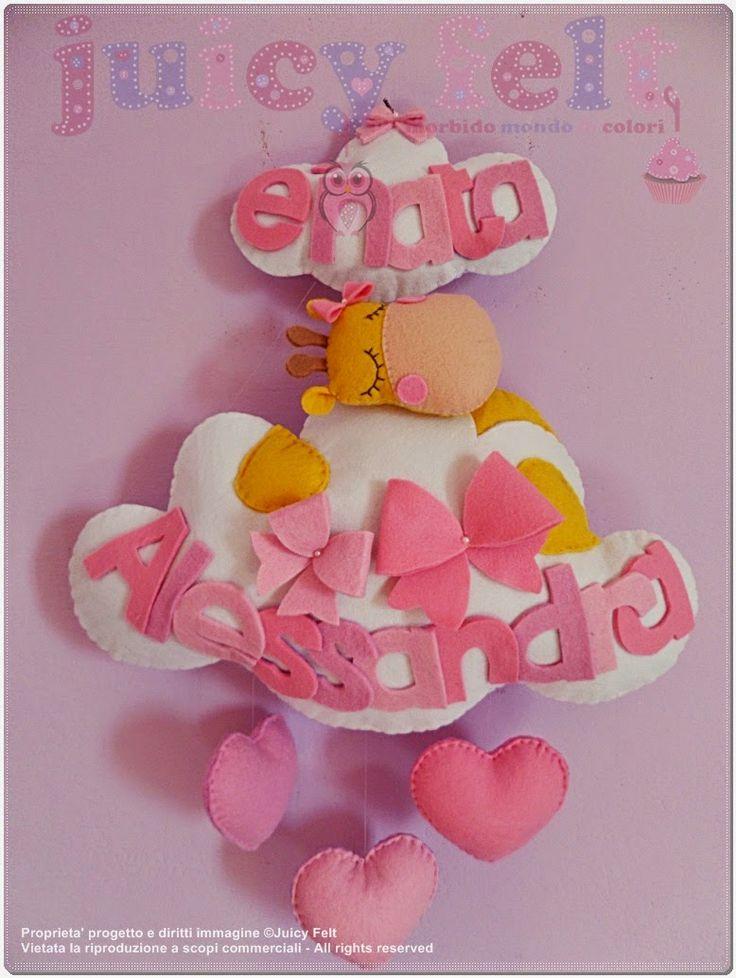 Juicy felt: Total pink per Alessandra