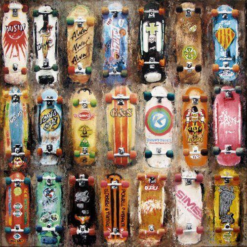 Go Away Garage: Skatboards!