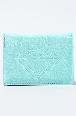 Diamond Supply Co. The Diamond ID Wallet in Diamond Blue : Karmaloop.com - Global Concrete Culture