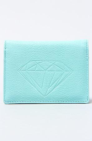 Diamond Supply Co. The Diamond ID Wallet in Diamond Blue : Karmaloop.com - Global Concrete Culture