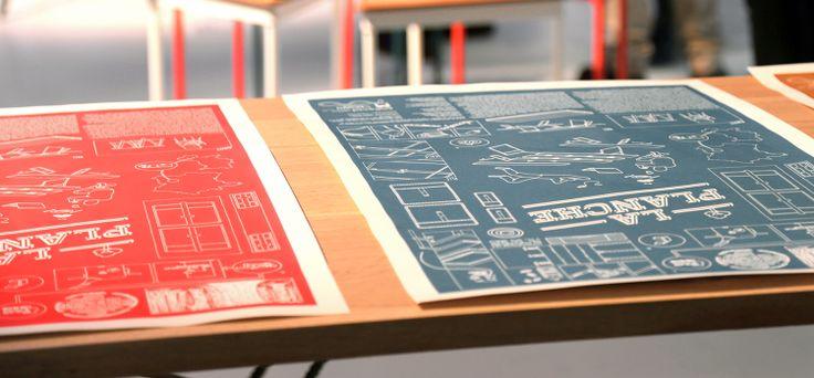 la planche | serigraphy by collectif etc