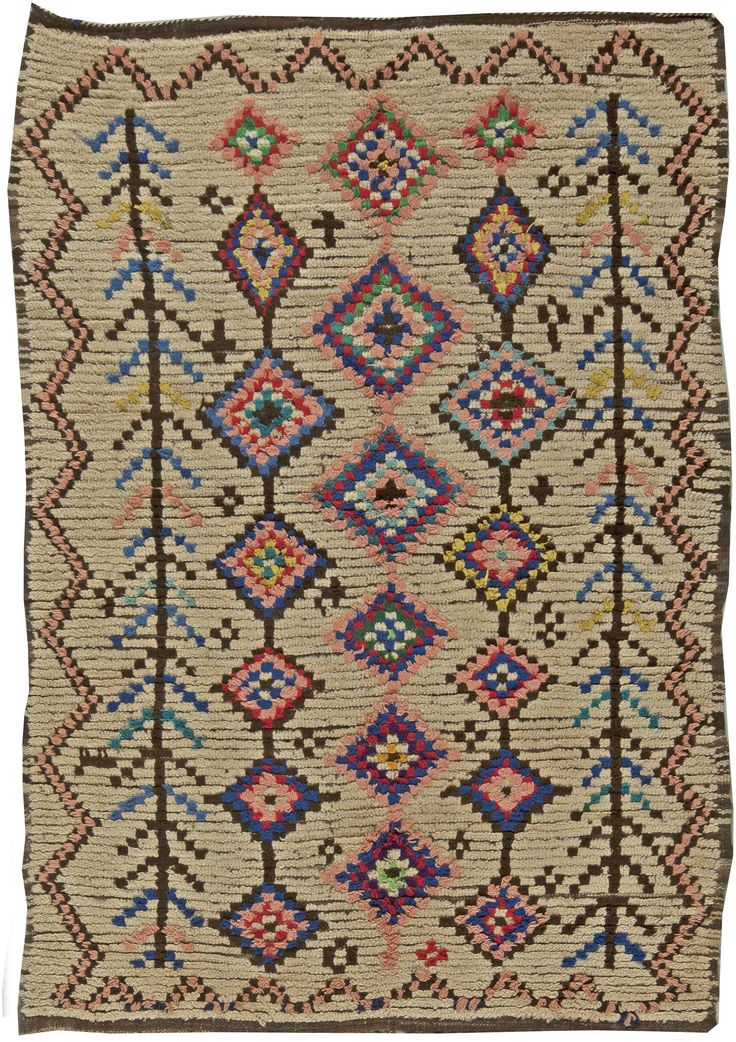 Vintage Rugs Rug Moroccan Interior Decor Colorful In Living Room