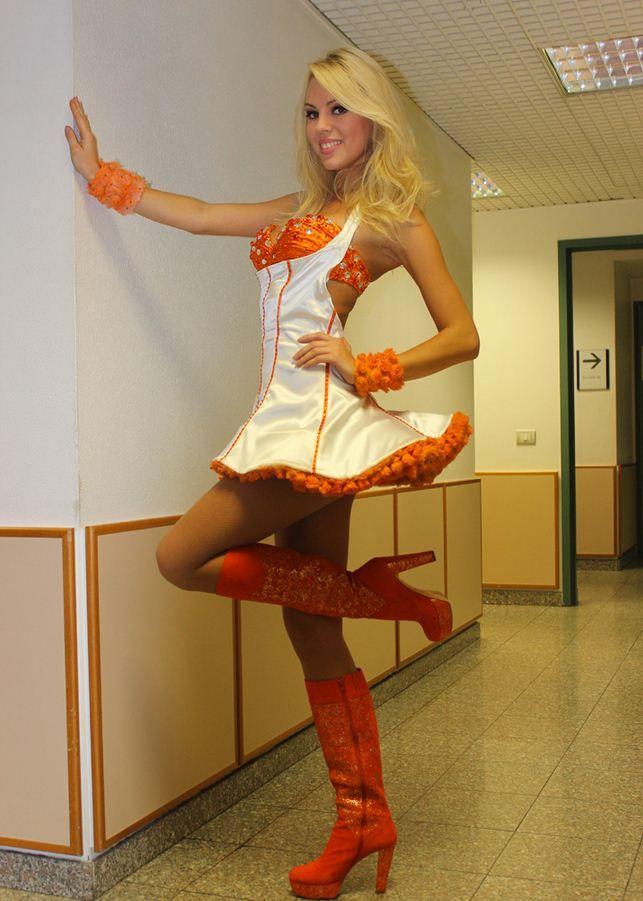 Paperissima wearing Michela Rigucci Luxury!