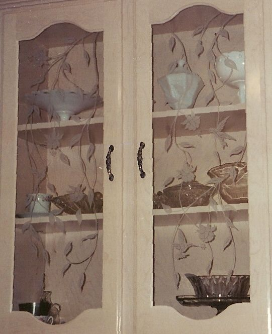 Glass Designs For Kitchen Doors: 169 Best Images About Glass Cabinet Doors On Pinterest