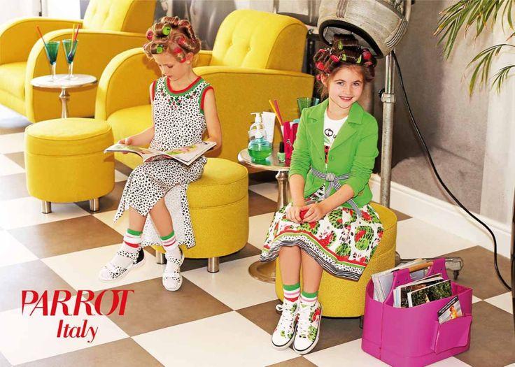 PARROT ITALY 🔝 Удачное сочетание традиционного итальянского ноу-хау и самых последних модных тенденций в детских коллекциях от Parrot позволяет создавать необычные и стильные наряды для девочек. Parrot – это и джинсы, и топы, и жакеты и платья, – все что может понадобиться юной моднице для того, чтобы поэксперементировать с новыми яркими образами и создать свой неповторимый стиль. Все изготовлено из натуральных тканей высочайшего качества. Яркие краски добавят в гардероб юного задора…