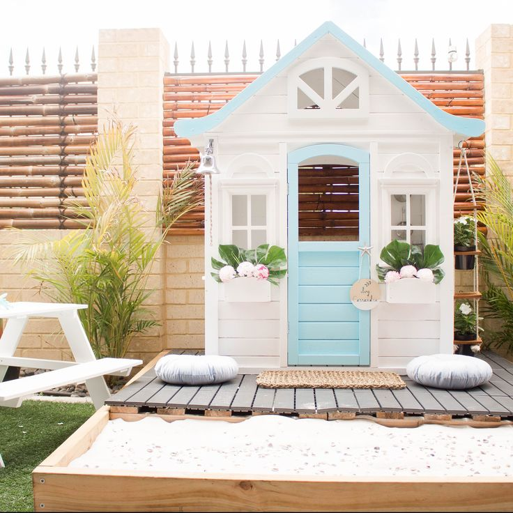 Kmart Cubby House hacks renos and makeovers - Oh So Busy Mum