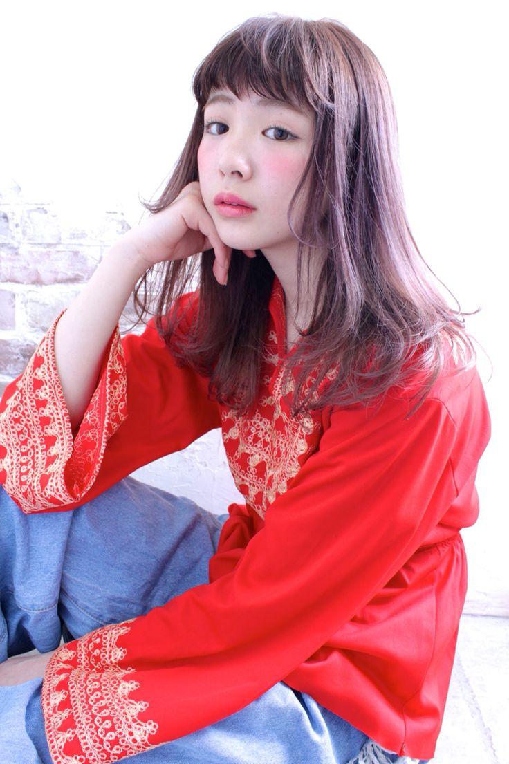 TRENCH yui_style. ラベンダーアッシュのカラーで柔らかさをプラス