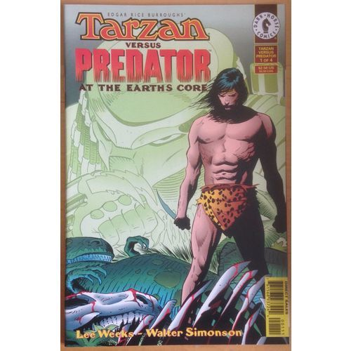Tarzan v's Predator #1 Dark Horse Comics