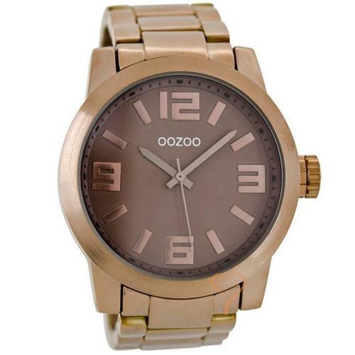 Ρολόι Oozoo Timepieces 50mm Brown Dial
