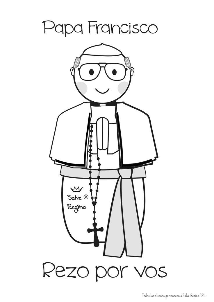 Resultado de imagen para papa francisco en goma eva