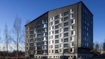 L'edificio residenziale in legno multipiano piu' alto della Finlandia