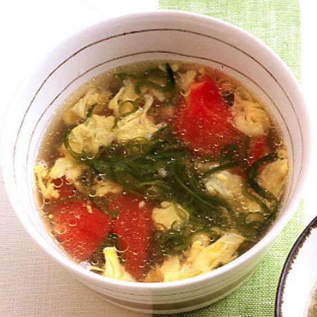めかぶのかきたま中華スープ | 沼口ゆきさんのスープの料理レシピ | プロの簡単料理レシピはレタスクラブニュース
